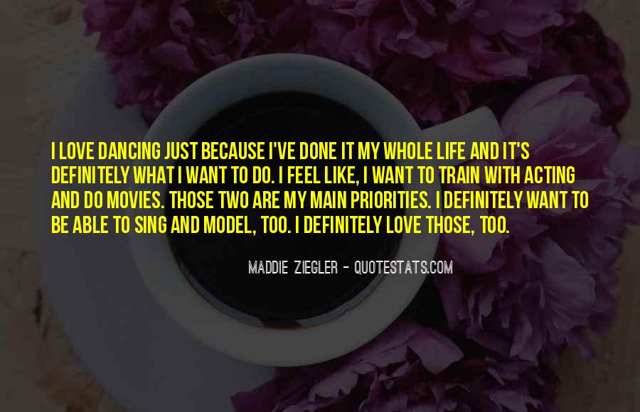 Quotes About Dancing From Movies #281716