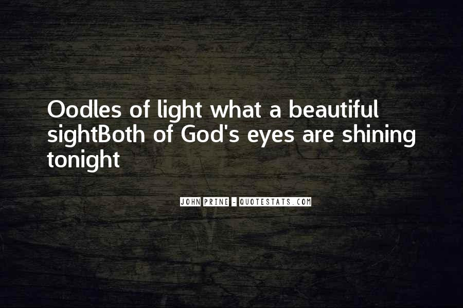 Quotes About God's Light #1596