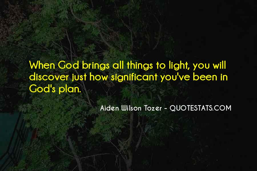 Quotes About God's Light #174103