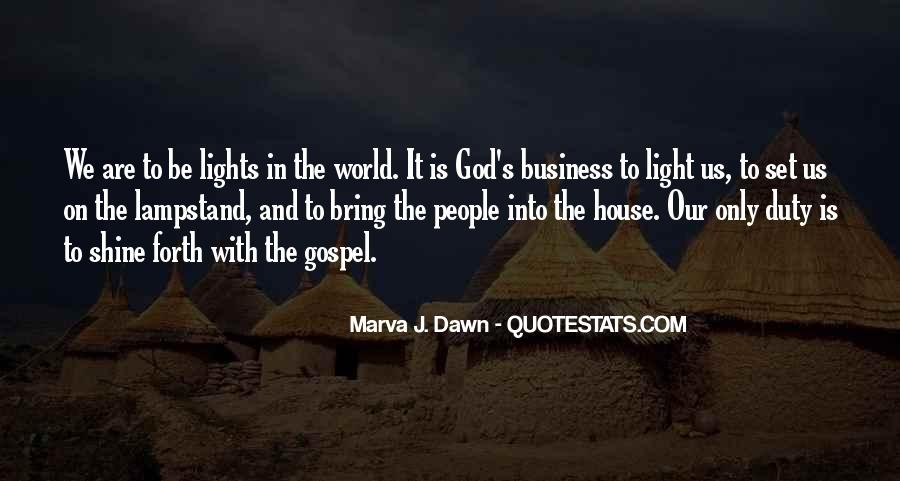 Quotes About God's Light #197542