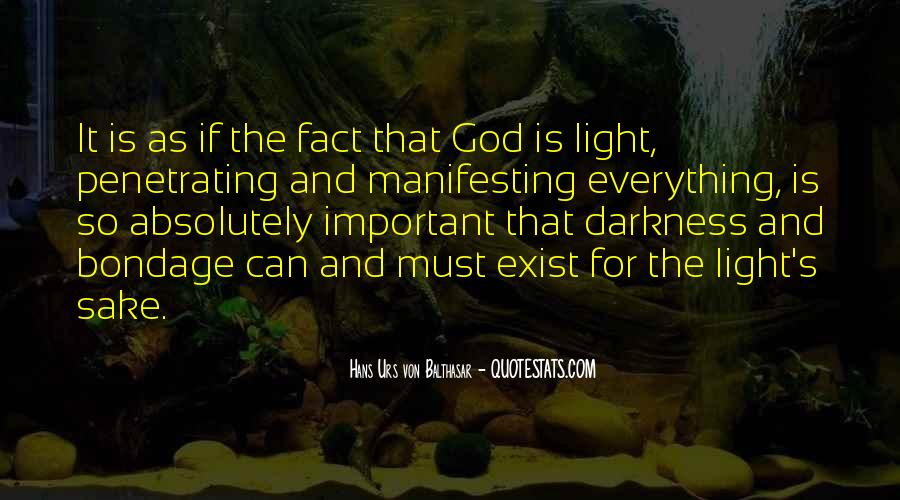 Quotes About God's Light #265363
