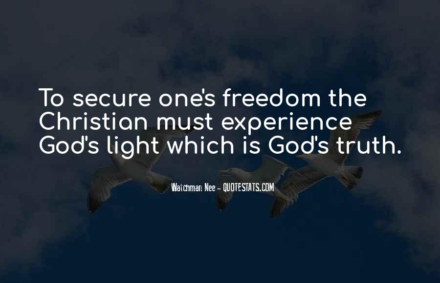 Quotes About God's Light #355978