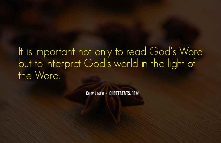 Quotes About God's Light #533407
