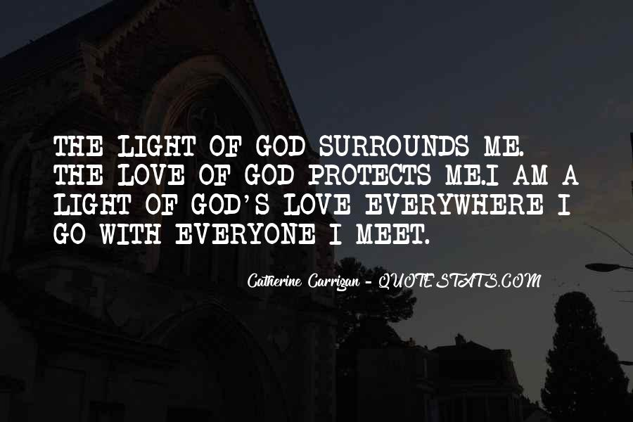 Quotes About God's Light #618020