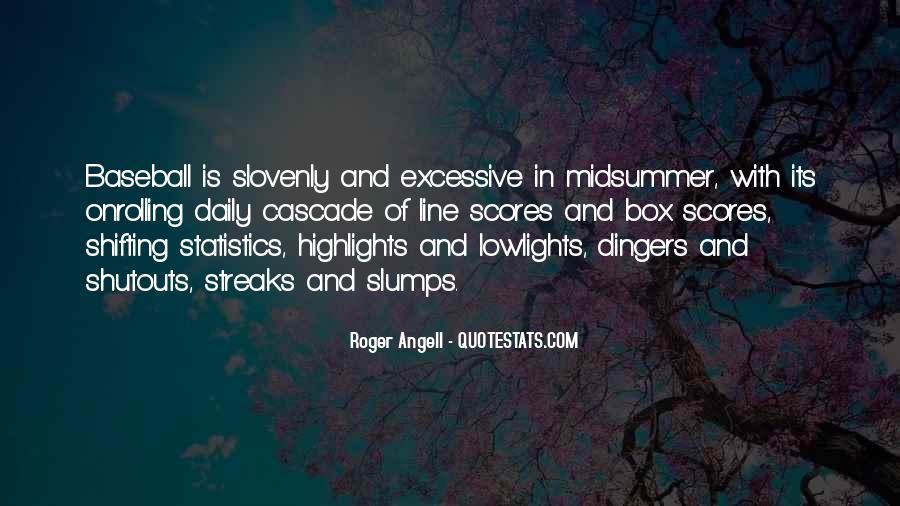 Quotes About Slumps #365904