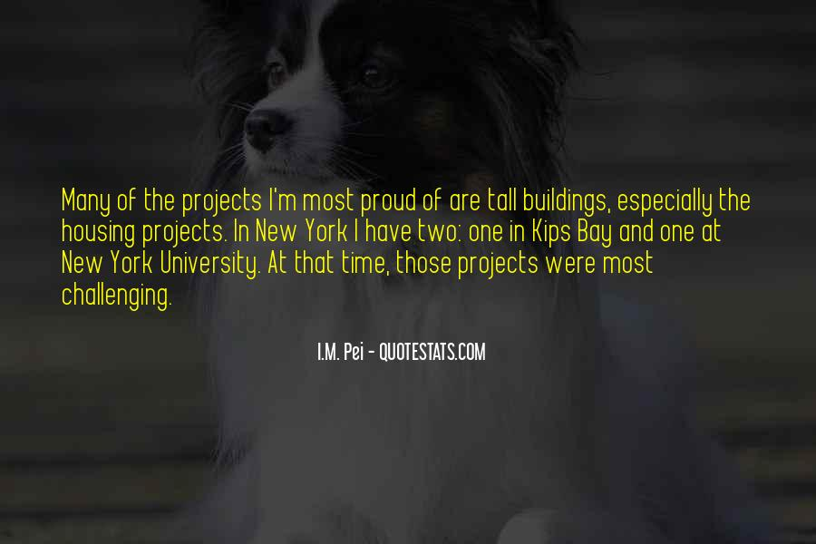 Quotes About New Buildings #1298497