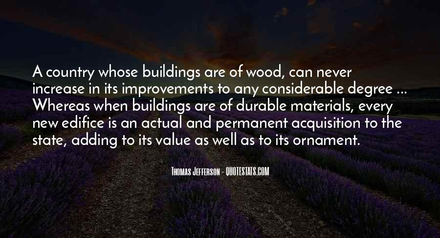 Quotes About New Buildings #1744546