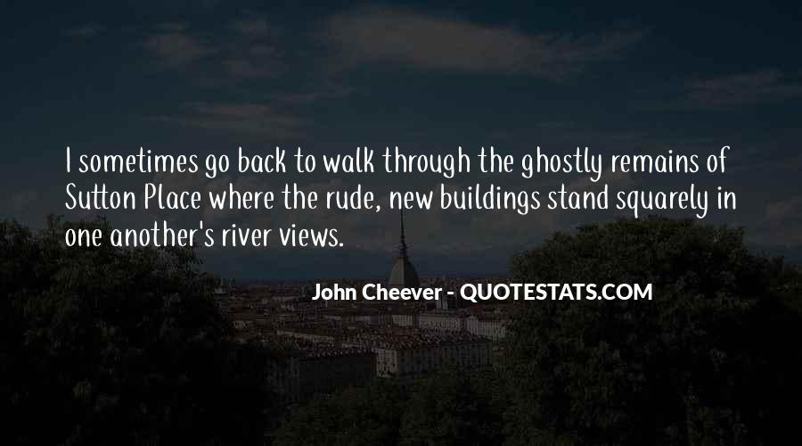 Quotes About New Buildings #365558