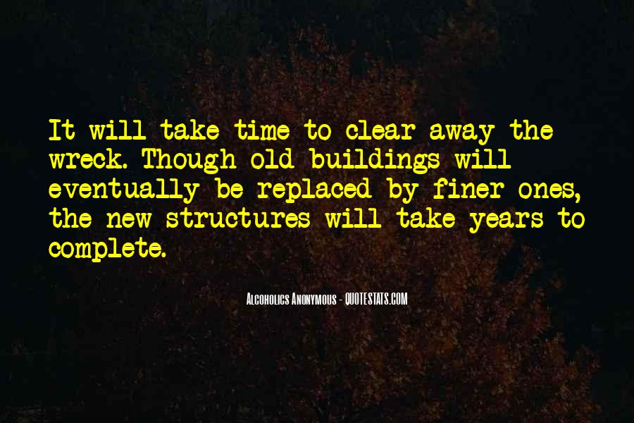 Quotes About New Buildings #69065