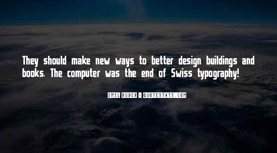 Quotes About New Buildings #79558