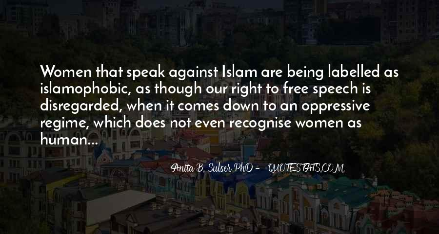 Quotes About Human Rights In Islam #1520453