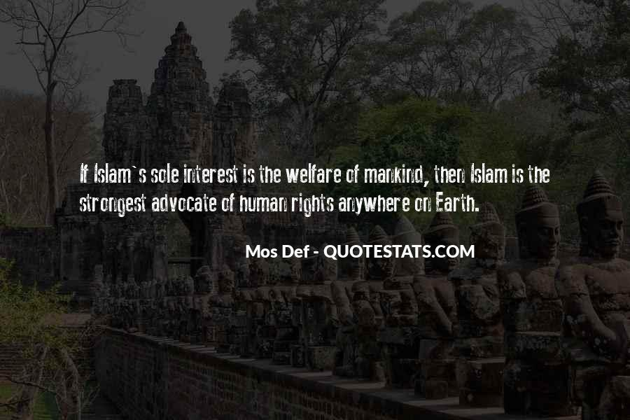 Quotes About Human Rights In Islam #22529