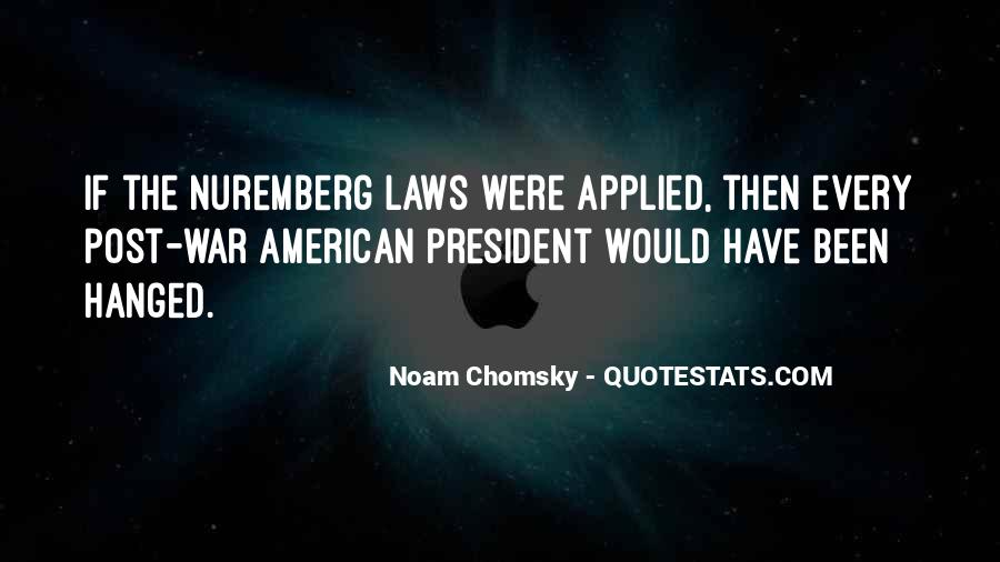 Quotes About The Nuremberg Laws #14801