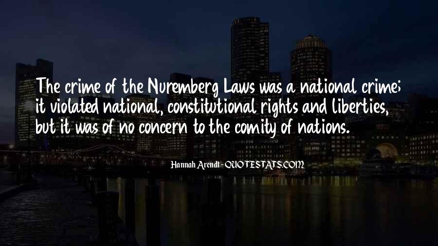 Quotes About The Nuremberg Laws #478037