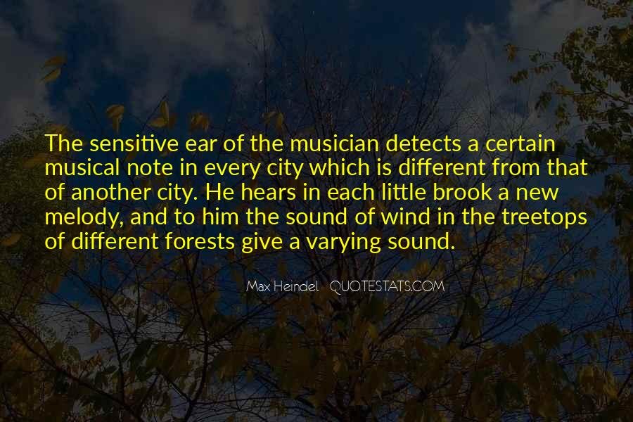 Quotes About Treetops #1227727