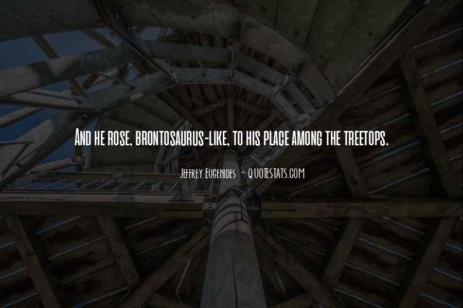 Quotes About Treetops #1664092