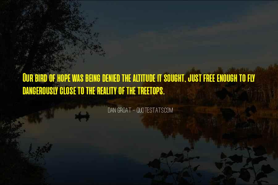 Quotes About Treetops #688197