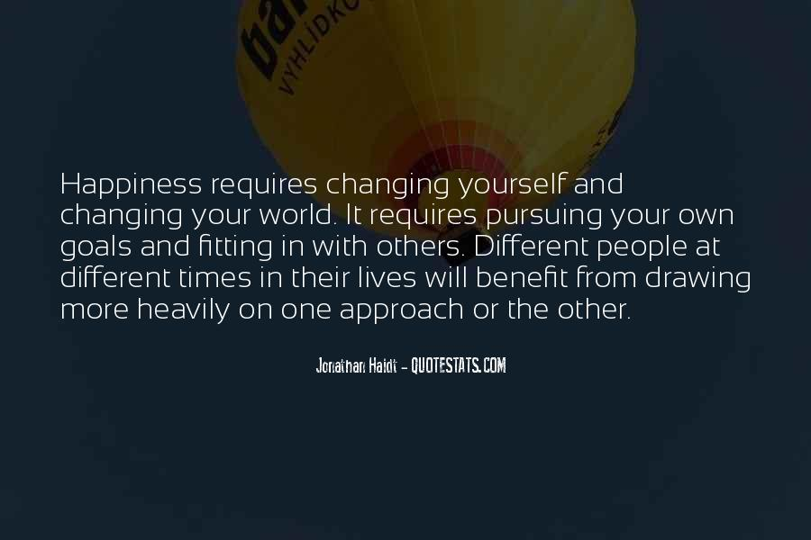 Quotes About Pursuing Happiness #1855958