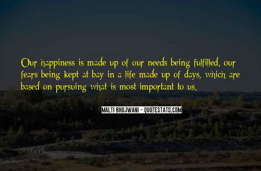 Quotes About Pursuing Happiness #205873