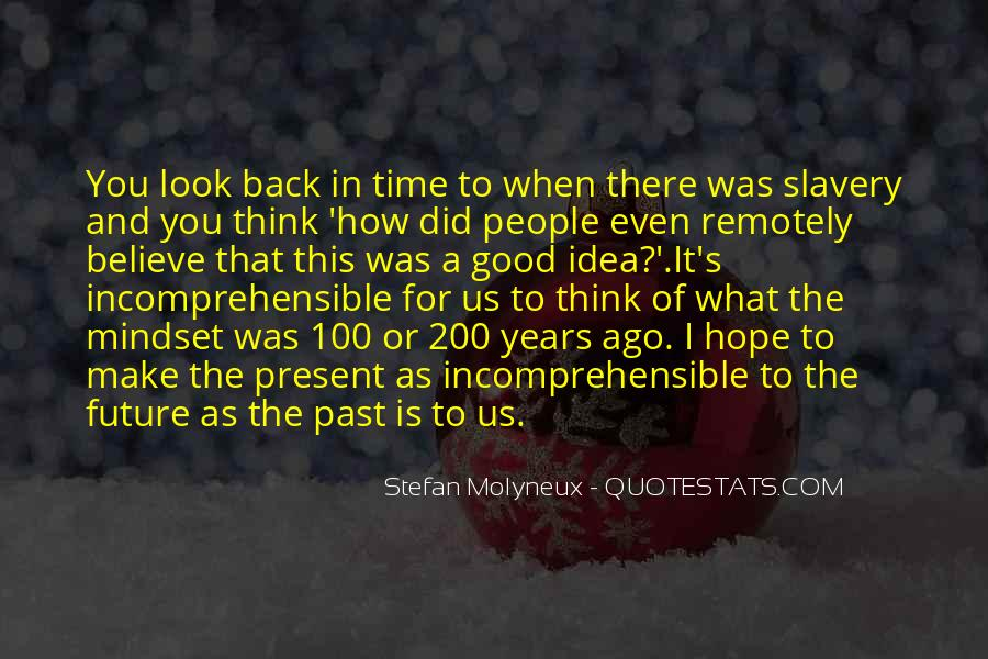 Quotes About The Past Years #113154