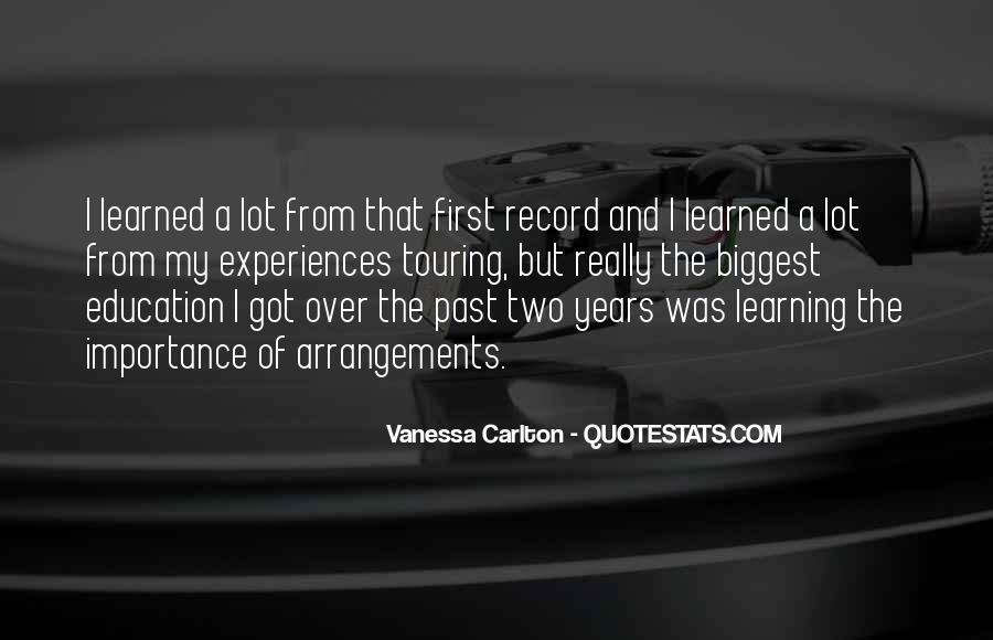 Quotes About The Past Years #149615