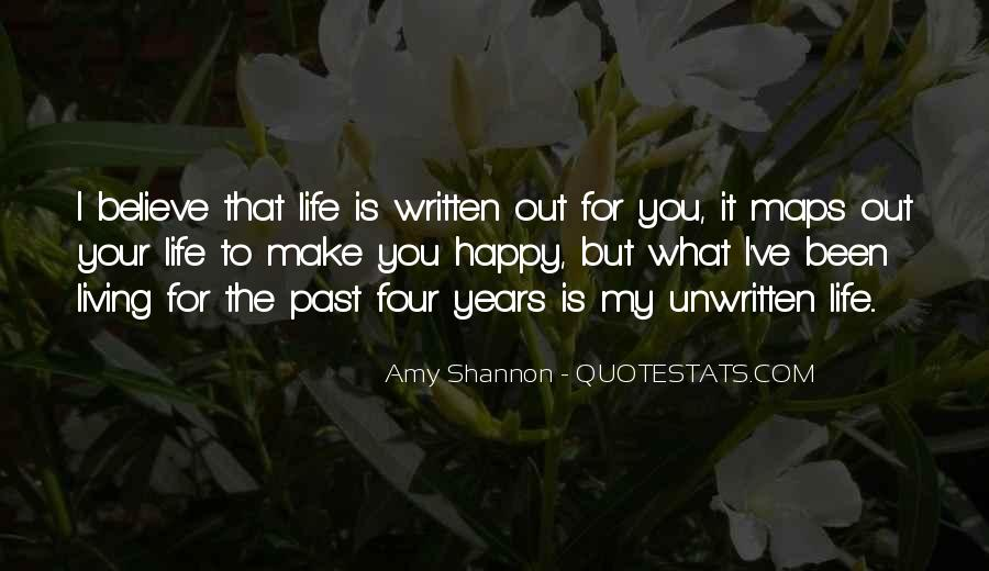 Quotes About The Past Years #164311
