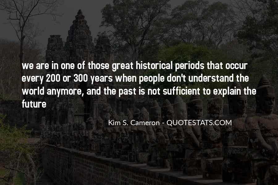 Quotes About The Past Years #177259