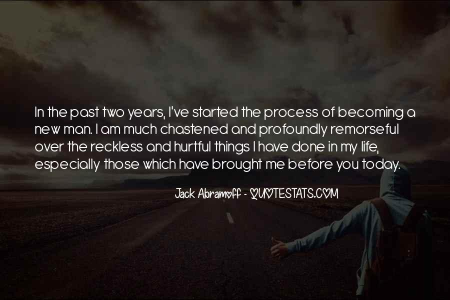 Quotes About The Past Years #208039