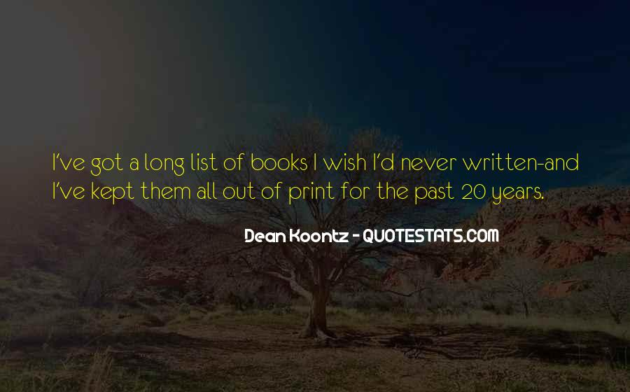 Quotes About The Past Years #219858
