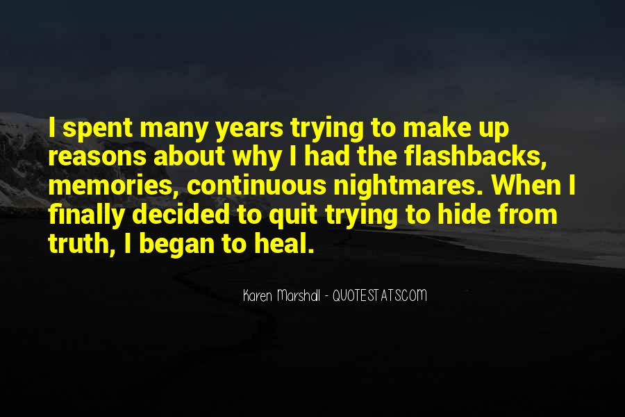 Quotes About The Past Years #37570