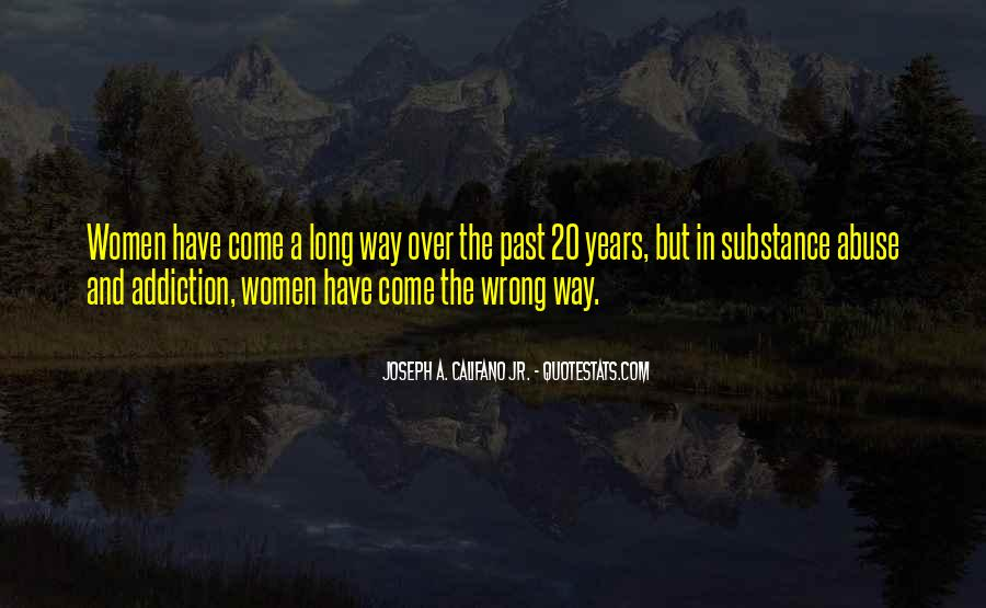 Quotes About The Past Years #88536