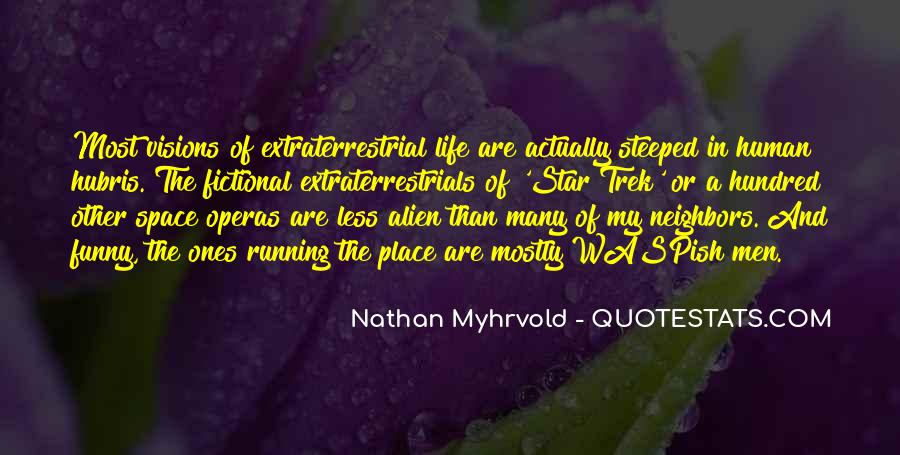 Quotes About Alien Life #1222246