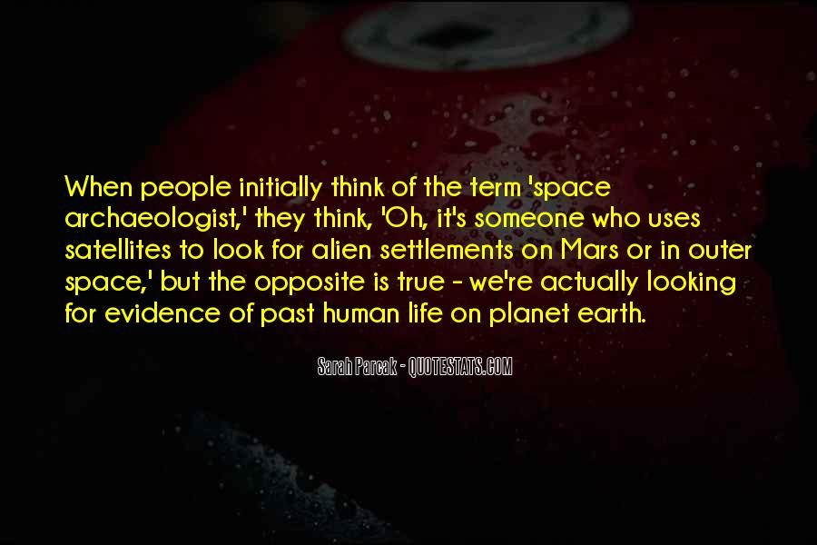 Quotes About Alien Life #1273740
