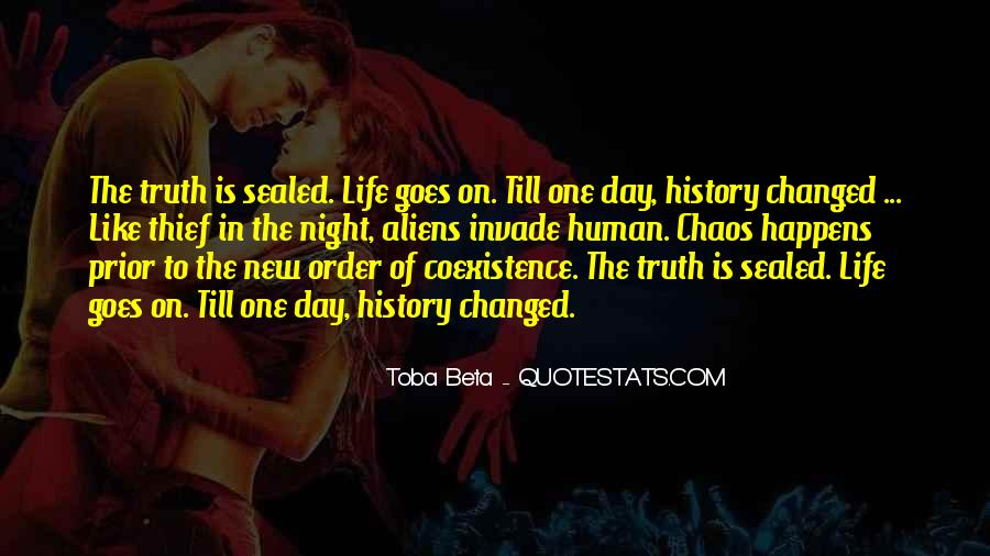 Quotes About Alien Life #1661776