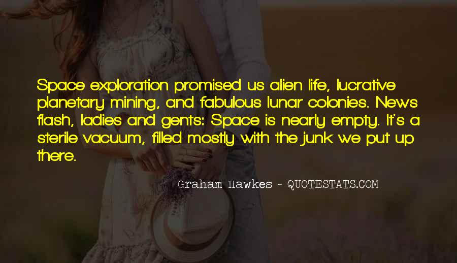 Quotes About Alien Life #306350