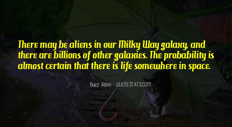 Quotes About Alien Life #350578
