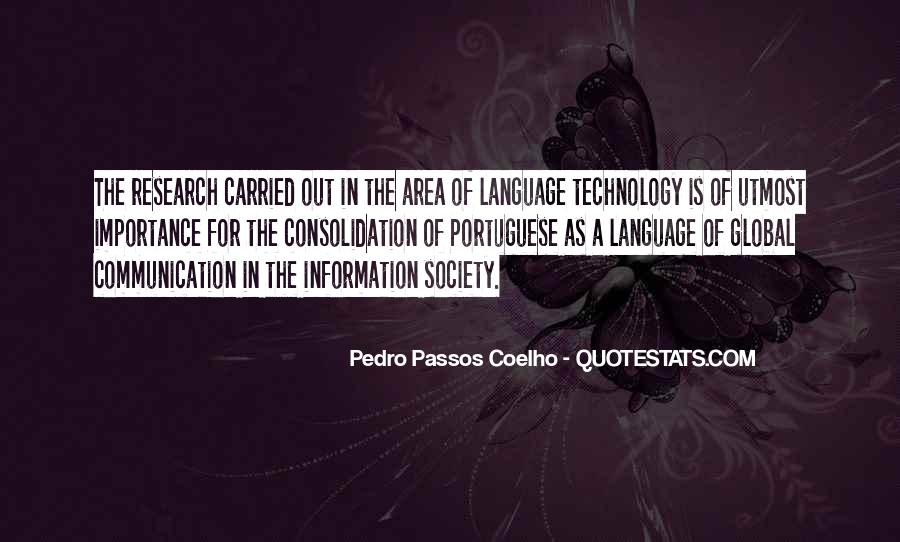 Quotes About Information Communication Technology #1130990