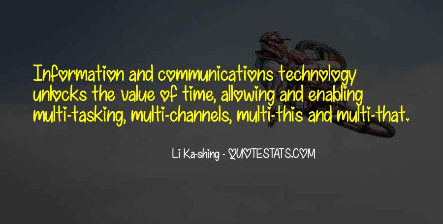 Quotes About Information Communication Technology #1591403