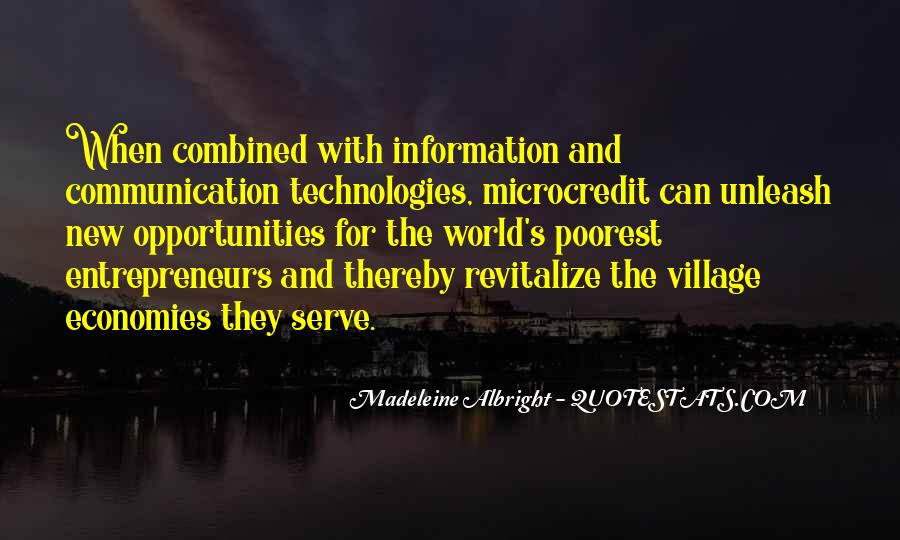 Quotes About Information Communication Technology #962721