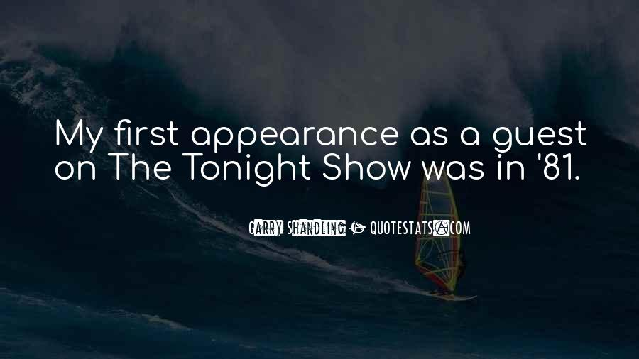 Quotes About Tonight #22601