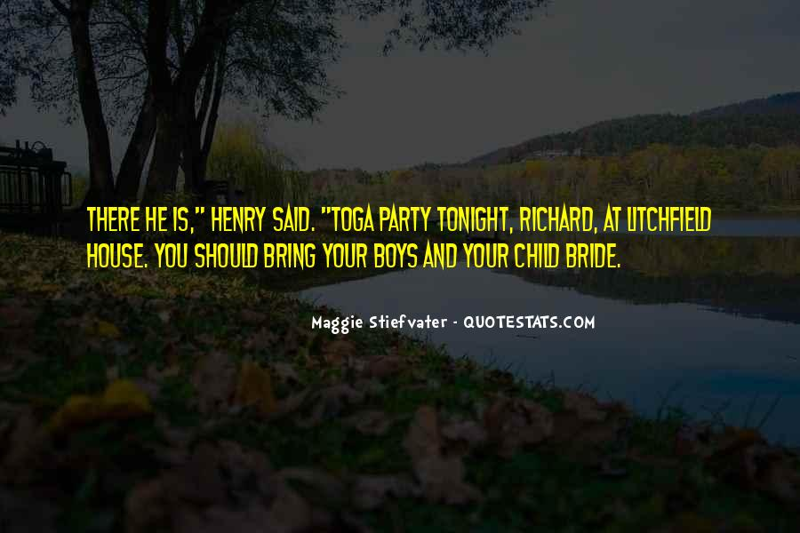 Quotes About Tonight #35712