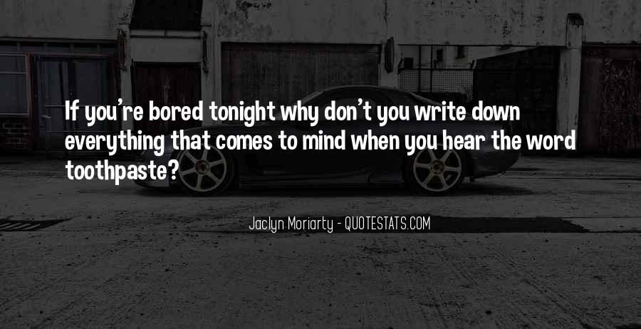 Quotes About Tonight #41119