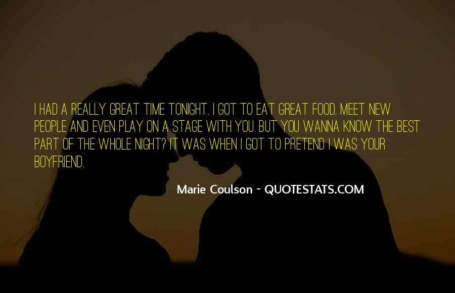 Quotes About Tonight #61622