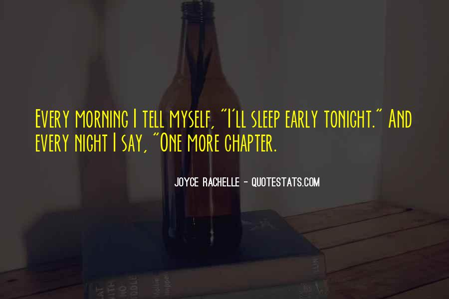 Quotes About Tonight #88992