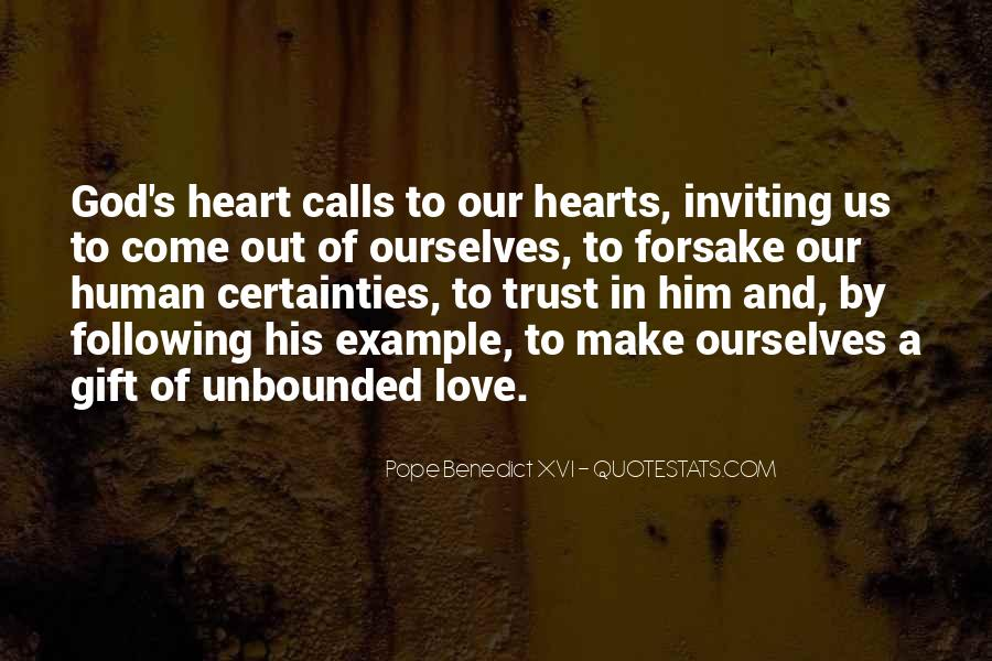 Quotes About Not Following Your Heart #208062