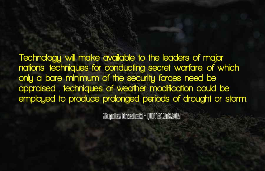 Quotes About Technology In Warfare #1431434