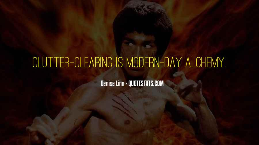 Quotes About Clearing Clutter #1255195