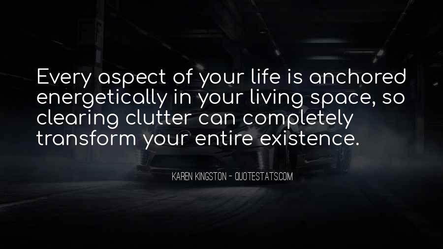 Quotes About Clearing Clutter #622944