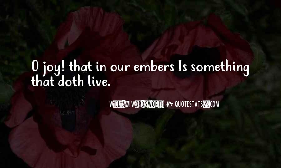 Quotes About Embers #130918