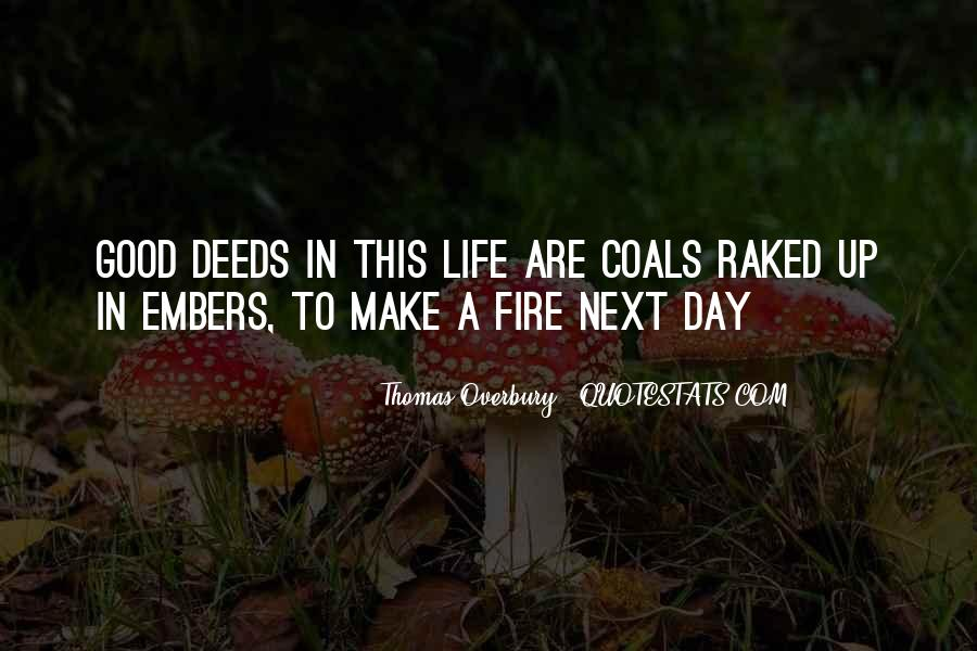 Quotes About Embers #351262